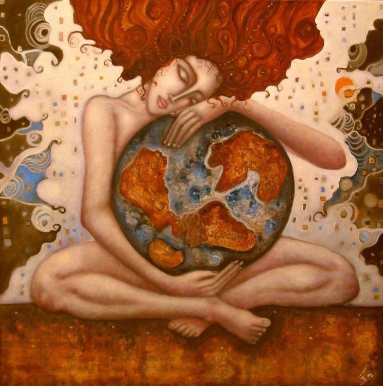 Goddess-earth mother