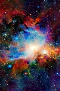 Stars-orion nebula