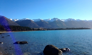 NZ-lake ohau o- water